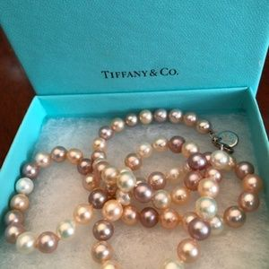 Tiffany & Co. Multi-Coloured Pearl Necklace